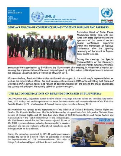 BNUB  United Nations Office in Burundi