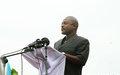 Burundi's president launches village program