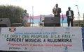 Le Gouvernement et les Nations Unies célèbrent  la journée internationale de la paix