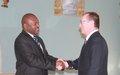Visite au Burundi du Secrétaire général adjoint des Nations Unies