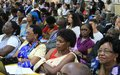 UN official promotes regional conference on the Framework of Hope and UNSCR 1325