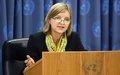 Karin Landgren nommée Représentante spéciale de l'ONU au Burundi