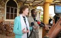 "Mary Robinson ""encouraged"" by Burundi's President support to the peace framework"