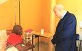 Le Représentant du Haut Commissaire aux Droits de l'Homme au Burundi visite Pierre-Claver Mbonimpa