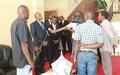 Echanges entre le Premier Vice-président et le Représentant spécial