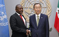 Secretary-General's report says that Burundi continued to make progress in consolidating peace