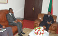 SRSG Onanga-Anyanga ends courtesy visits to Burundian top officials