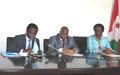 UNDAF 2012-2016's signature ceremony